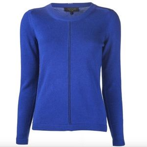 NWT rag & bone Blue Briana Pullover Sweater XS